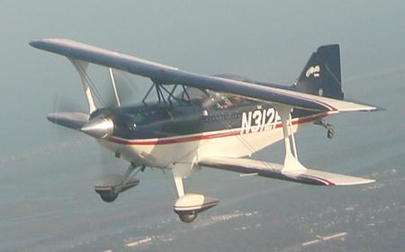 N312PS in flight